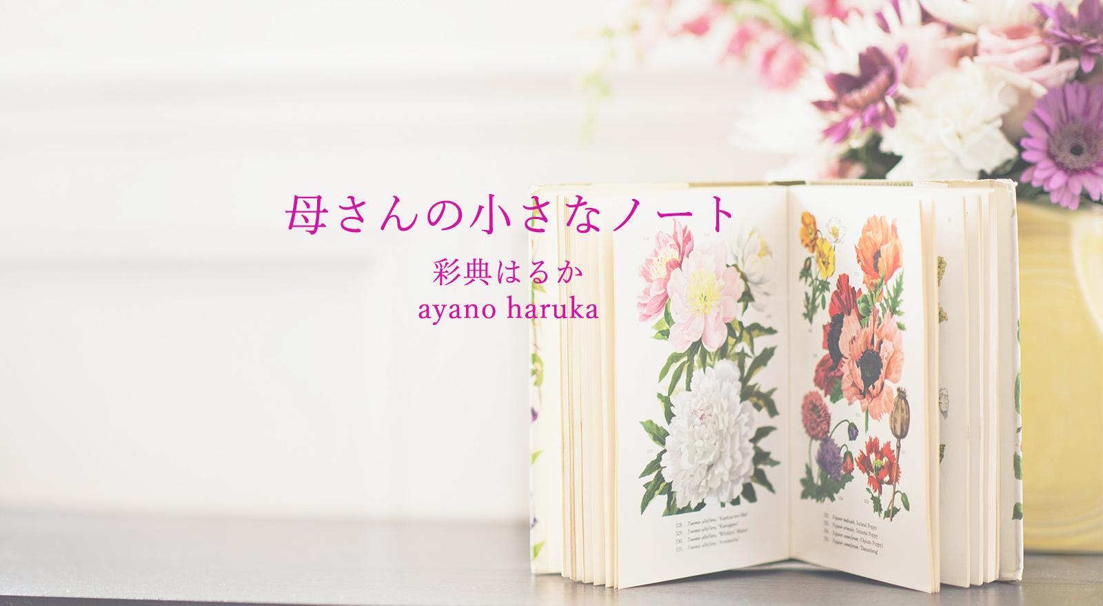 母さんの小さなノート